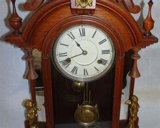 Walnut Jenny Lind Clock