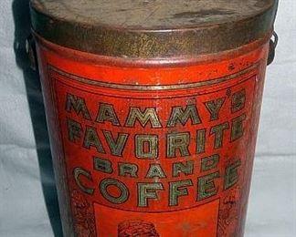 Mammy's Favorite Brand Coffee, Black Americana