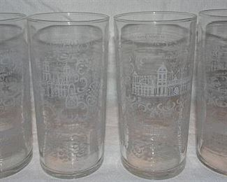1904 St. Louis Worlds Fair Iced Tea Glasses