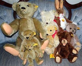 Sreiff Teddy Bears & Rabbit