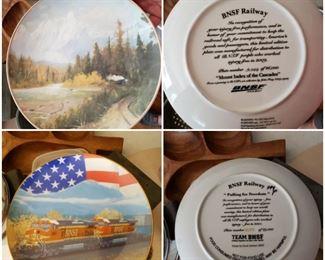 Service Railroad plates