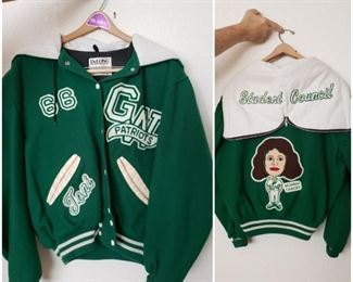 Letterman jacket (female)