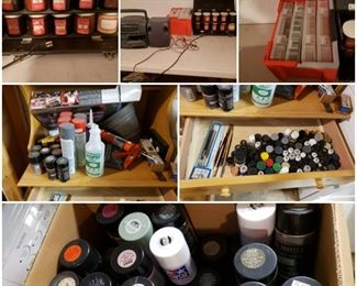 painting supplies for model kits