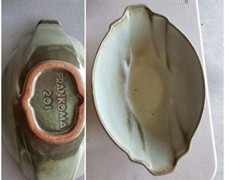 Frankoma 201 bowl/dish Mid Century
