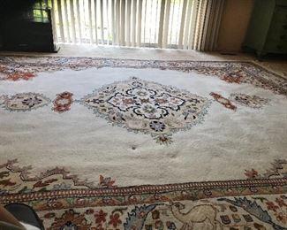 Indo-Tabriz rug 9x12. Great cond.