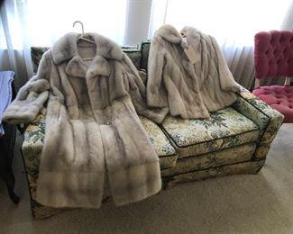 Mink coats!