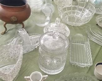crystal and pieces from Germany