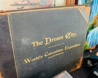 The Dream City vintage  book