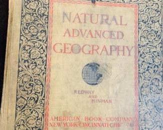 Natural Michigan Geography vintage book