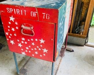 Awesome Patriotic Tool chest