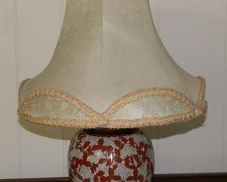 Antique Cloisonne Lamp