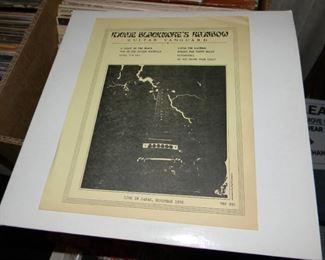 Bootleg? Copy of Ritchie Blackmore's Rainbow Guitar Vanguard - blank label