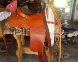 excellent condition saddle