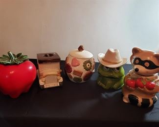 Animated Cookie Jars