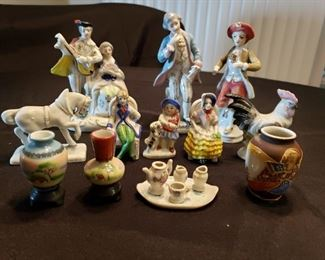 Occupied Japan Figurines