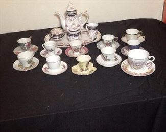 Tea Set and Cups