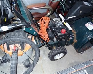 Craftsman 2 Stage Snowblower for parts