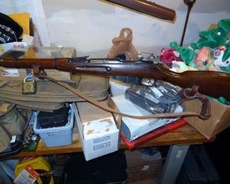 Hungarian M44 Rifle