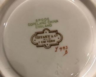 Spode Tiffany and co