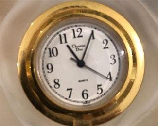 Christian Dior clock