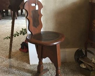 Antique Birthing Chair