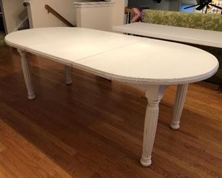 Custom Pine Table- Opens to seat 8