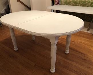 """Pine Table 60"""" x 42"""" opens to 84"""" x 42"""""""