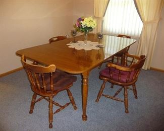 small 4 chair dinette set