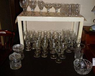 large amount of GLASSES