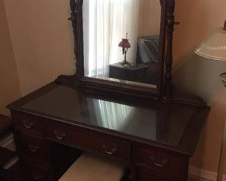Vintage Dressing Table and Bench