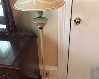 Vintage Tole Floor Lamp