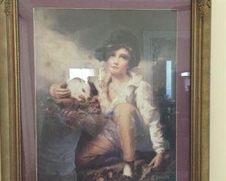 Vintage Framed Art