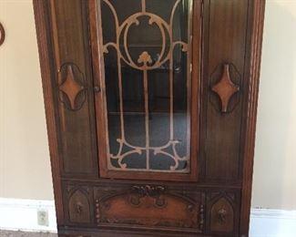 Vintage Art Deco China Cabinet