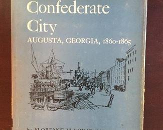 Confederate City Augusta, GA Hardback Book