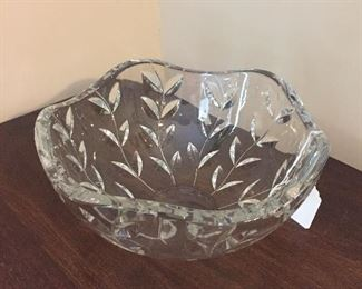 Tiffany & Co. Handcut Crystal Bowl