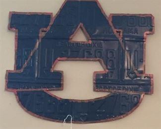 Auburn University Metal Wall Art