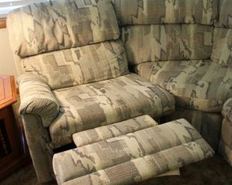 Sectional recliner.