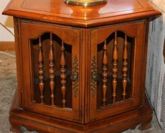 Early American matching end table.  Set of two.