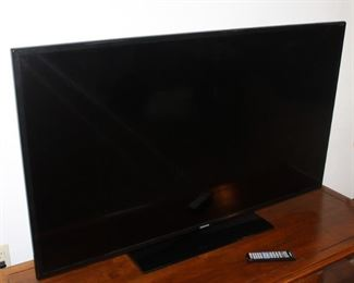 Samsung  Big  flat screen television!  Works great.