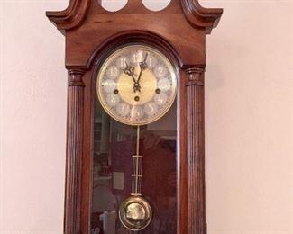 Sligh pendulum wall clock