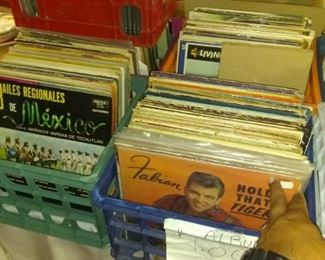 Record LPs, Latin, Funk like, Blues, Rock RnB