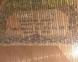 Inside Howard grand piano