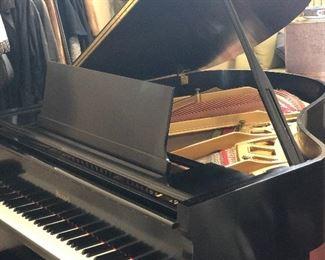 Open Howard grand piano