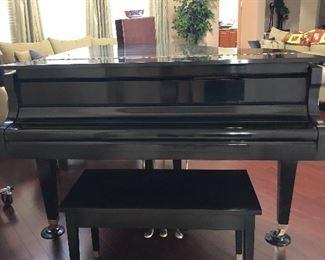 Beautiful Howard grand piano