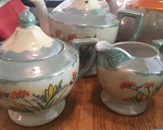 Lusterware tea set (more pieces of different sets available).