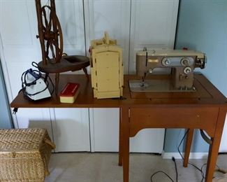 Sewing machine and more