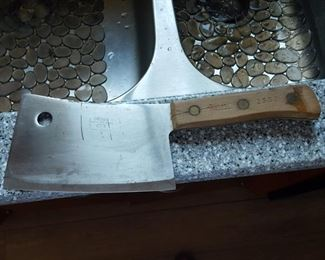 Russell Green River Works cleaver