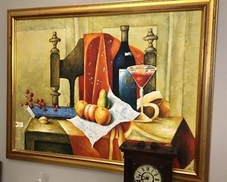 Contemporary oil painting.