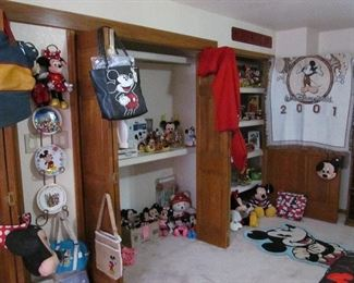 PLENTY of Mickey and Minnie that needs new homes. Christmas is coming folks!! All nearly new!