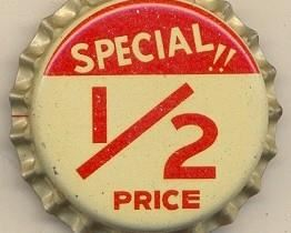 Half price day! Red ticket items do apply (reduced but not 50%) Come see us!!
